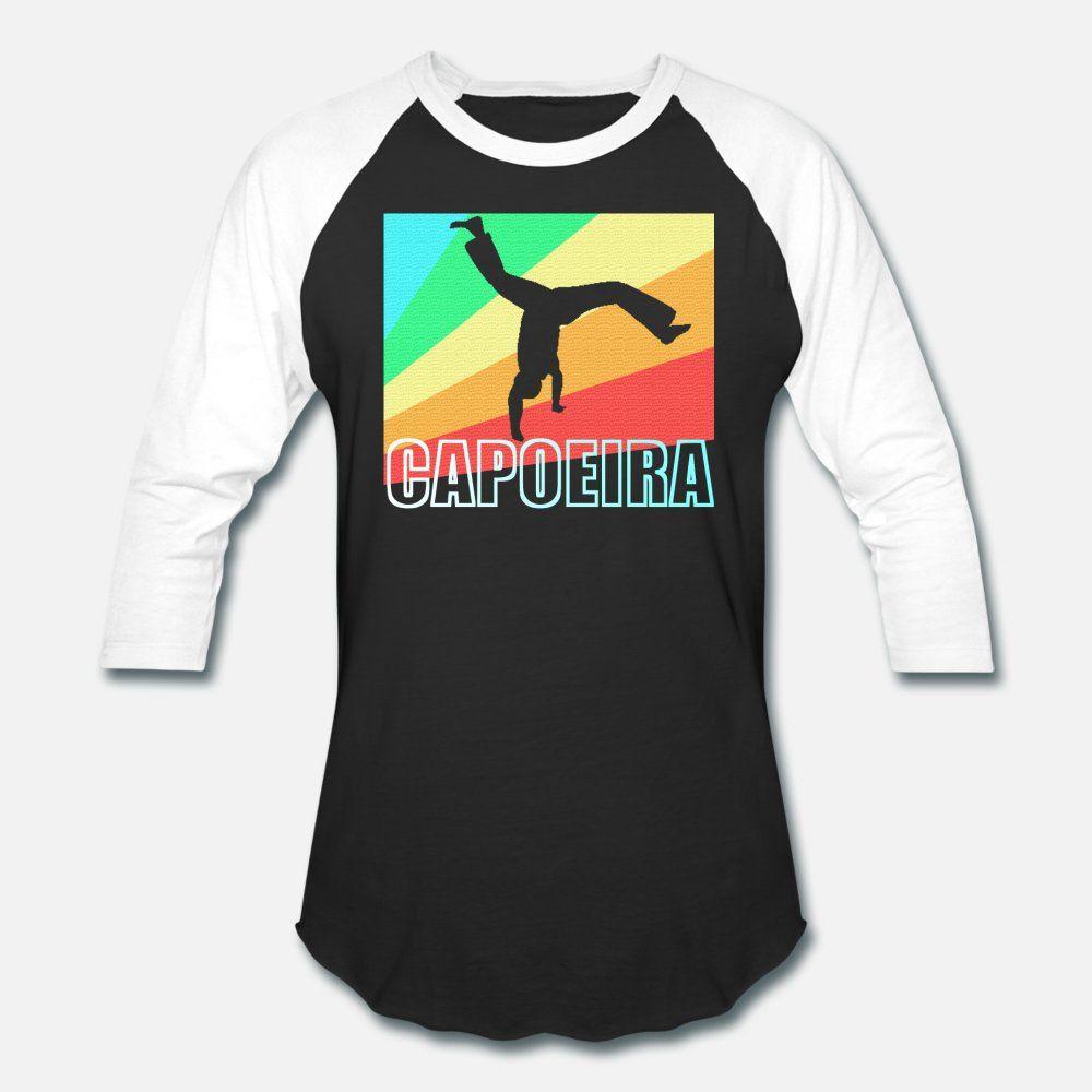 Capoeira Brasilien Martial Art Geschenk T-Shirt Männer gedruckt 100% Baumwolle Rundkragen homme Sonnenlicht lustige Casual Frühling und Herbst Freizeit-Hemd