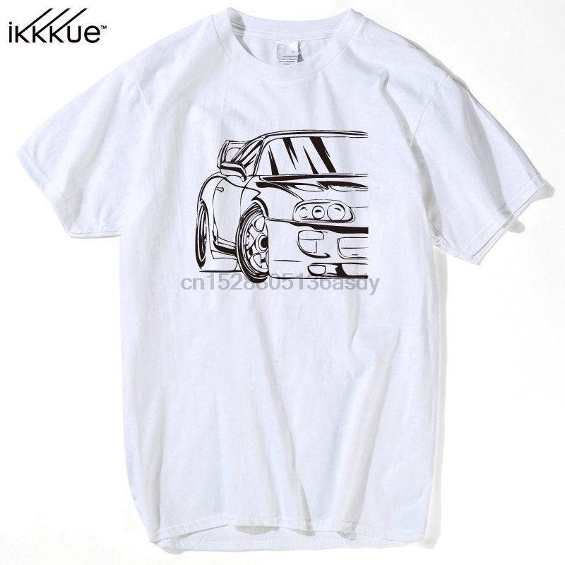 Классической японского автомобиль Почитатели 2JZ Drift X Japan Camiseta Футболка Гонка Ралли JDM Turbo Rally 2019 Новые 100% хлопок Лучших футболки