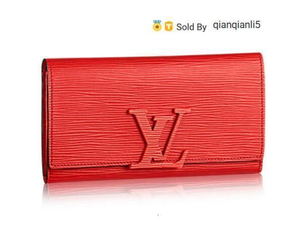 qianqianli5 HX0P WALLET M60766 NEW WOMEN FASHION SHOWS EXOTIC LEATHER BAGS ICONIC BAGS CLUTCHES EVENING CHAIN WALLETS PURSE