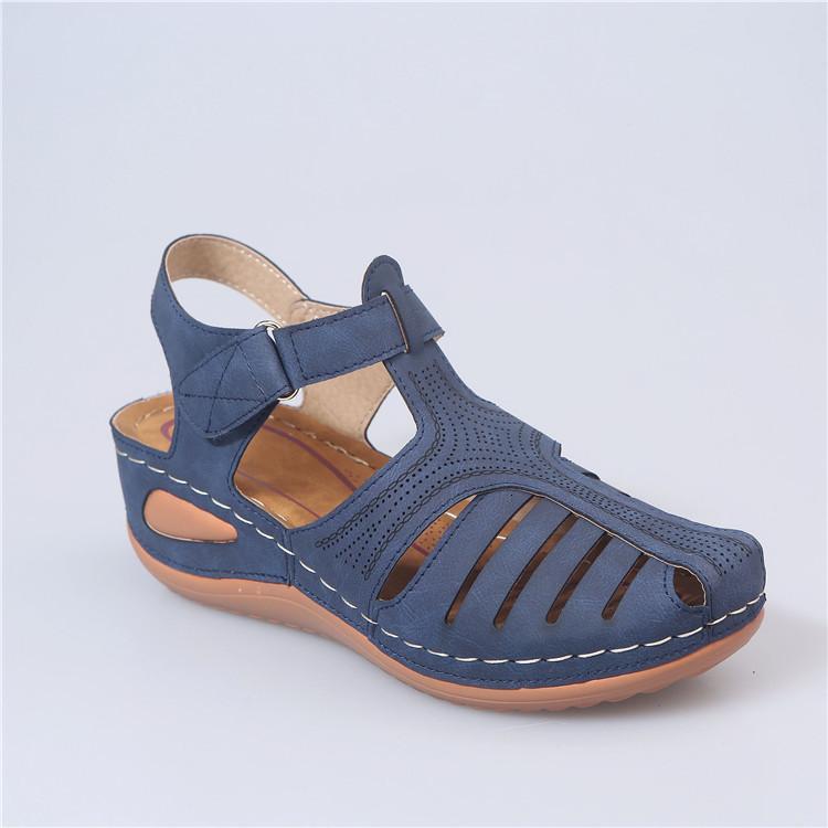 Женщины Сандалии летние туфли 2020 Мода ручной Roman Повседневный выдалбливают обувь Женщина Vintage Гладиатор обувь Zapatos De Mujer