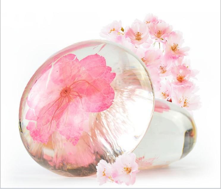 꽃 에센셜 오일 비누 수제 비누 얼굴 클렌징 목욕 화장품 사쿠라 사용자 정의 투명 비누 도매를 처리