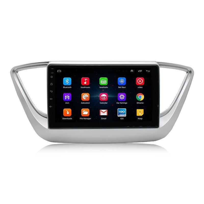 Android 9 1 + 16G Araç Radyo GPS Navigasyon Video ile HYUNDAI Tucson 2015-2018 Araba Dvd Player için