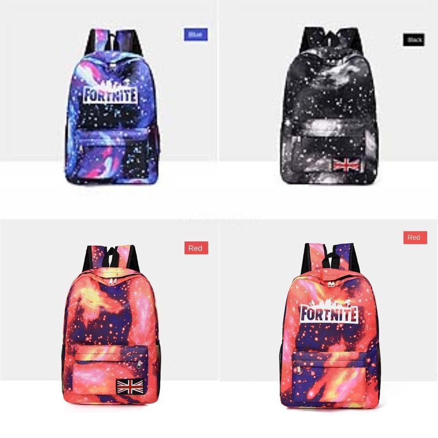 Mulheres Fortnite Starry Sky Fortress noite Mochilas Feminino sacos das fraldas Maternidade Nappy Bags Baby Care viagem Fortnite Starry Sky Fortress # 135