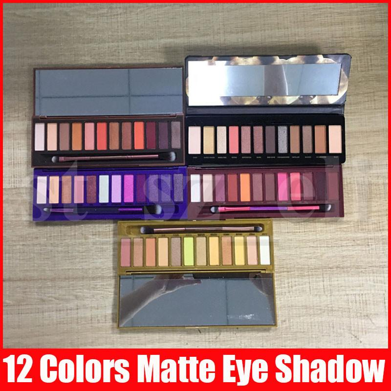 Makeup matte Eye shadow palette 12 color shimmer Eyeshadow Palette eye shadow pallet Palette honey heat cherry Eye Shadow 5 Styles