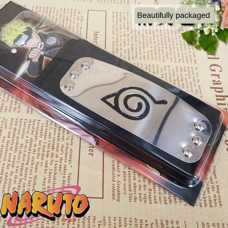 Naruto Naruto Yu Zhibo skunk Didara copertura foglia di legno vestito ribelle Accessori per capelli fascia Puntelli e oggetti di scena