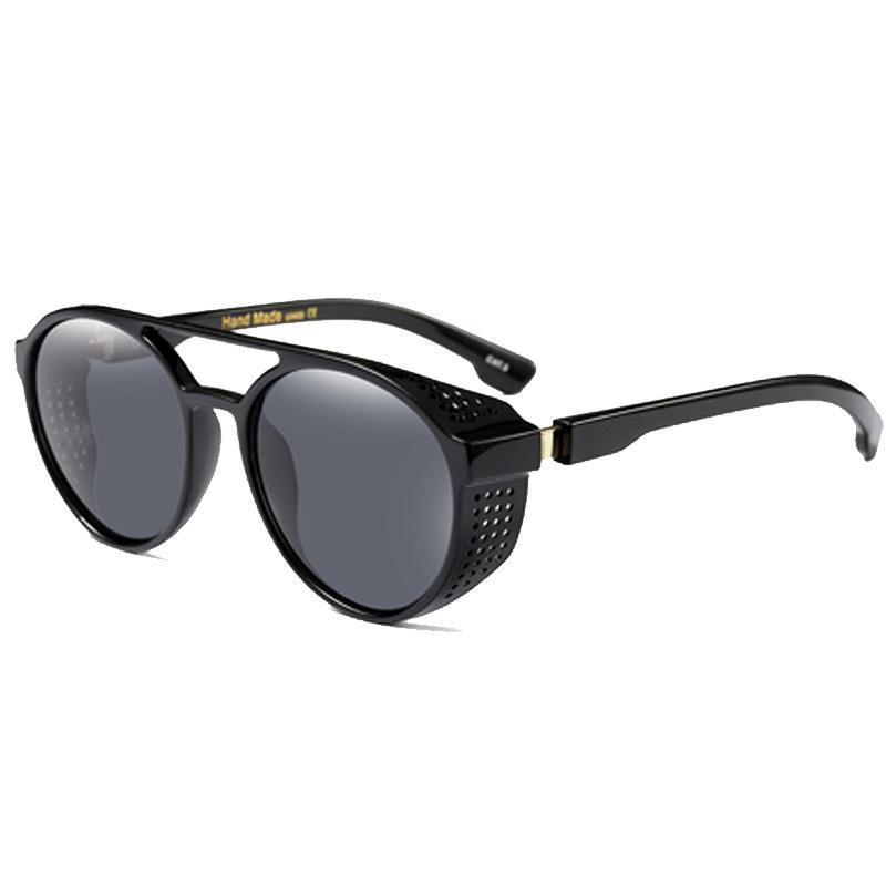 Punk Sunglasses Sun Shade Marque Pour Hommes Hommes Lunettes Lunettes Viette Vintage Party Cosplay Femmes UV400 Femmes pour Gafas Algtt