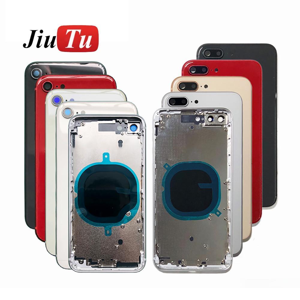 للحصول على الصبغي X ماكس XR 11 11Pro البطارية الغطاء الخلفي + الاوسط إطار الهيكل + SIM صينية + جانبية أجزاء مفتاح حالة الإسكان لا الكابلات المرنة