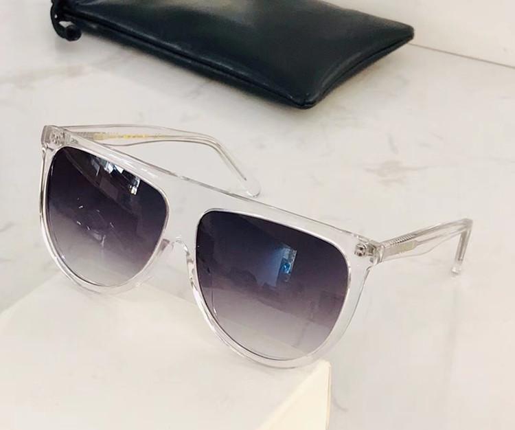 حار بساطتها الأوروبية صباحا كبيرة حافة للجنسين sunglassesCL41435 / S شقة أعلى تصميم التدرج UV400 61-14-145colorful لوح accustomized fullset حالة