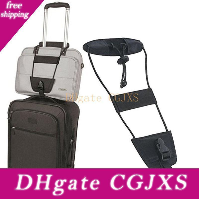 Cords portatili Aggiungere una cinghia del sacchetto dei bagagli di corsa Valigia regolabile Carry cinghia sulle forniture Borsa Bungee cinghie casa