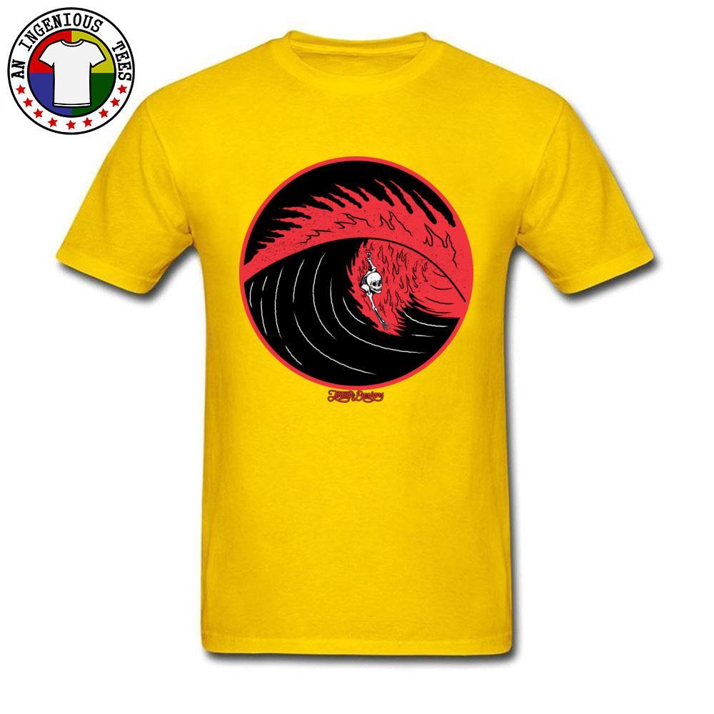 Body After Death Schädel druckte auf T Shirts Mens-Sommer-T-Shirts Beliebte Natürliche Baumwolle Fitness T-Shirts Casual Tops / T-Shirts