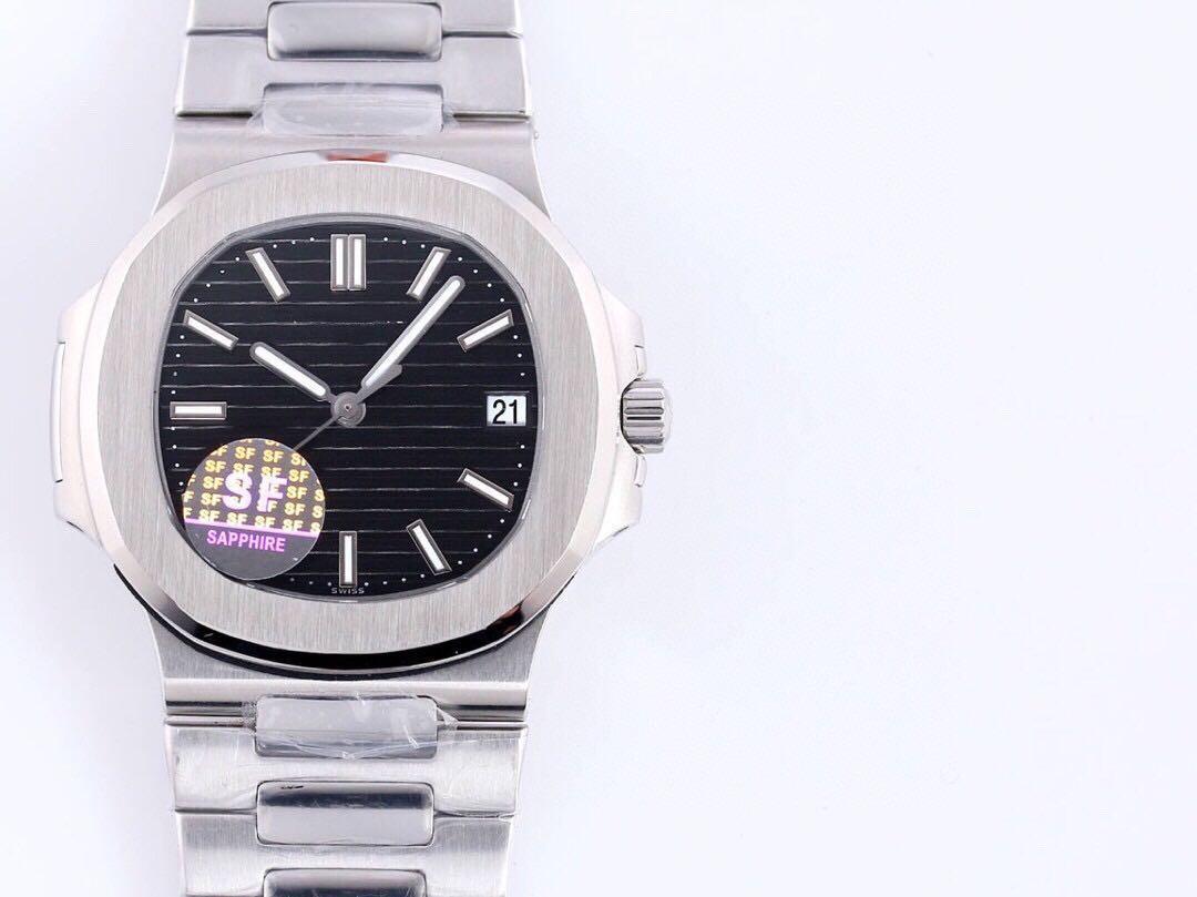 2020 высокого качества мужские часы 40mmX10mm оснащен 9015 модифицирован Cal.324 автоматические движения цепи водонепроницаемые часы Механические часы