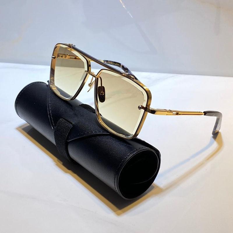 التيتانيوم الرجال والنساء النظارات الشمسية خمر الأزياء النمط الشعبي إطار مربع UV 400 مع عدسة الأصلي حالة مربع حقيبة أعلى جودة النظارات الشمسية
