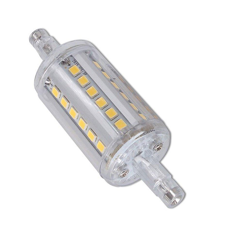 LED R7s кукурузы свет 36SMD2835 5W замена 70W галогенная лампа AC90-265V 360 градусов 500LM