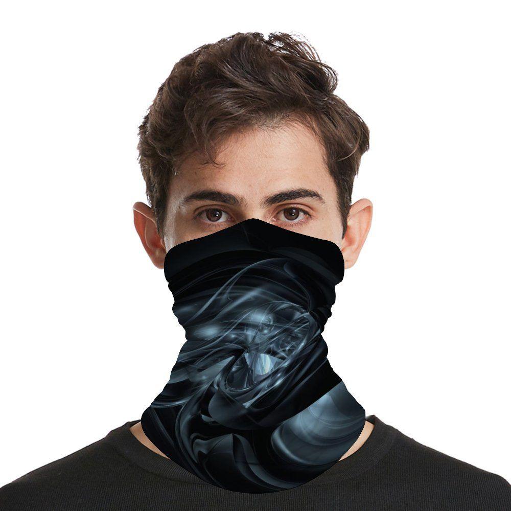 Bandana Máscara Facial Scarf Headbands para Poeira Vento Sun Proteção Headwear Máscara Facial reutilizáveis UV Protection Headbands Mulheres Homens
