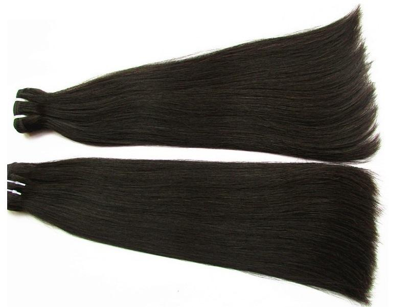 Wholesale Super Double Drawn Straight Human Hair Bundles 1Kg 10Pcs Lot Best Unprocessed Peruvian Virgin Hair Cuticle Aligned Hair