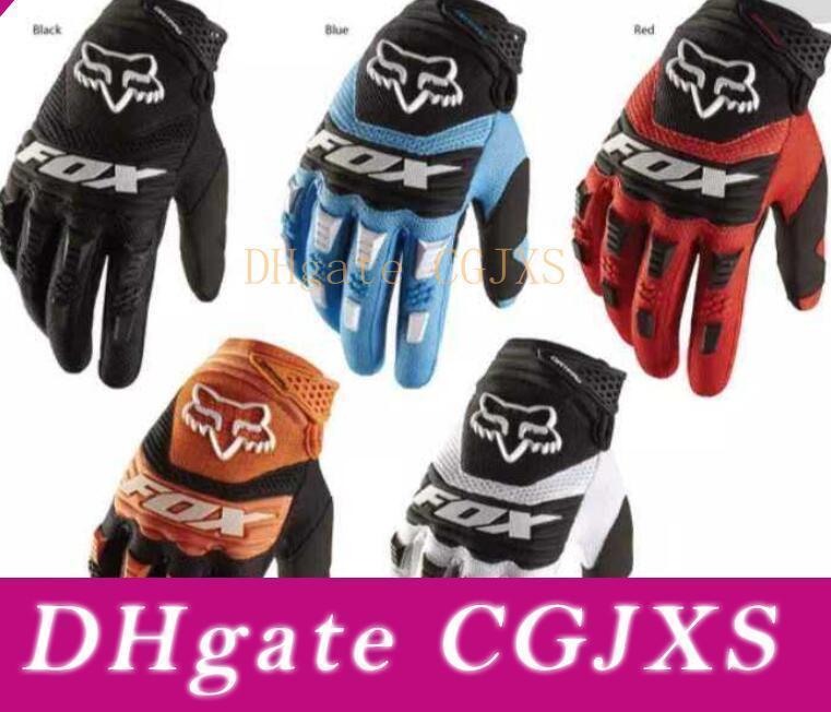 2020 Горячие Продажа Fox Открытый Велоспорт перчатки в дорожно- Гонки на мотоциклах перчатки на открытом воздухе оборудование