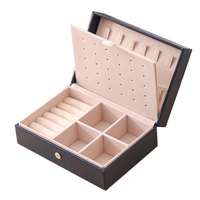 Новый кожа дисплея ювелирных изделий высокого качество конструкции способ кольцо коробок выбор подарок Любовь порекомендована Factory Продажа