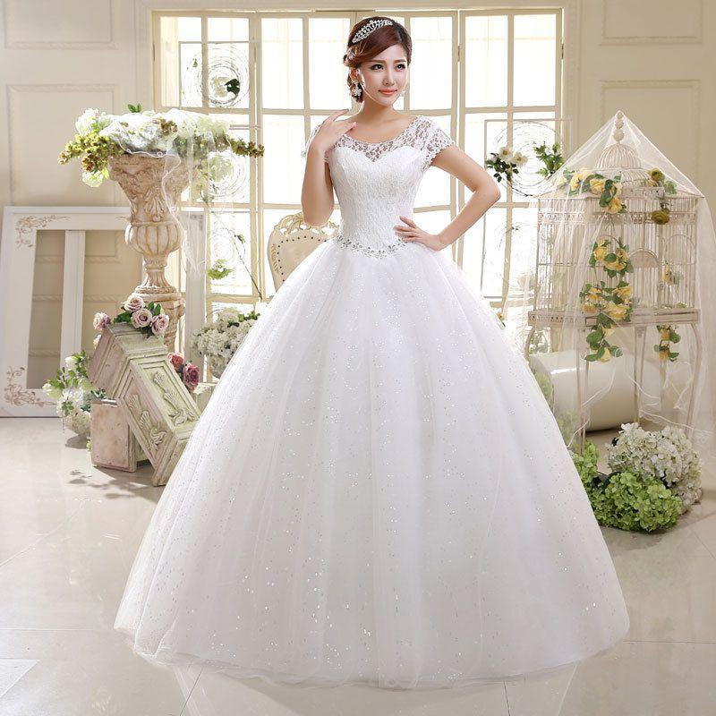Бальное платье невесты из бисера блесток кристалл кружева свадебное платье Прополка Тюль Cap рукава Длинные свадебные Vestidos De Novia