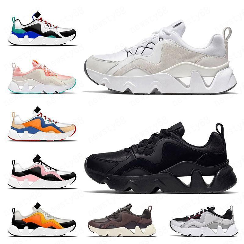 2020 أزياء المرأة RYZ 365 خفيفة الوزن لينة الاحذية الرجال أحذية رياضية كل أسود أبيض وردي برتقالي المدربين المتسابق المتسابق