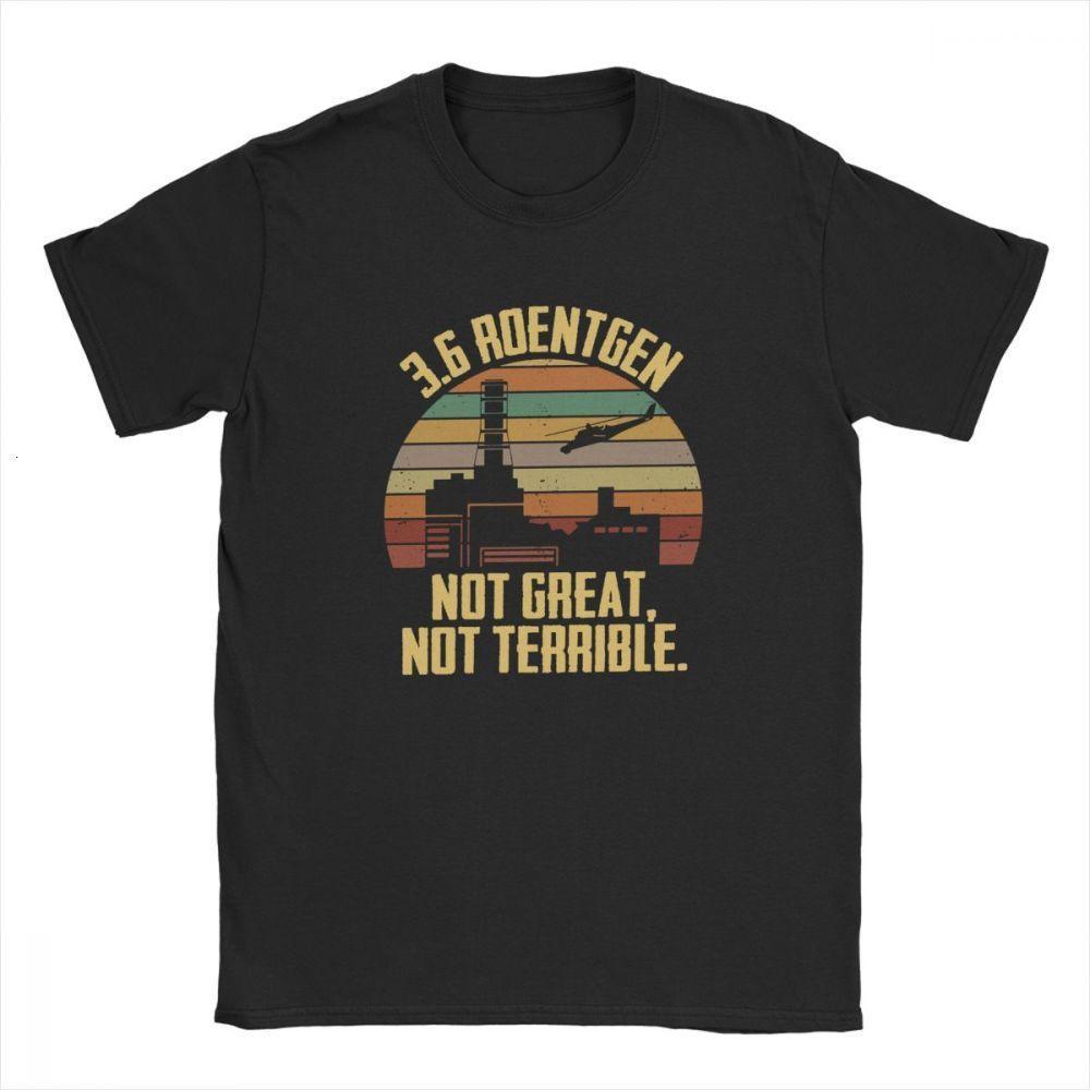 Midnite Stern 3.6 Roentgen Not Great nicht schrecklich Tees Chernobyl T-Shirts TV-Show Nuclear Radiation Disaster-T-Shirt Retro Tops