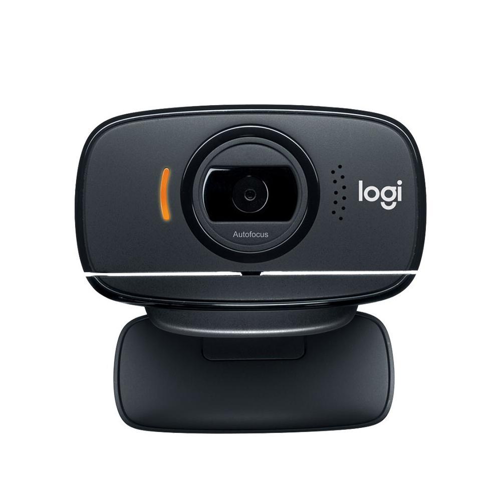 LogitechC525FoldableHDWebcam720P30fpsVideoCallsClip-onLaptopComputerMonitorsCameraRemoteTeachingAutofocusWebCamWithNoise-reducingMicrophone