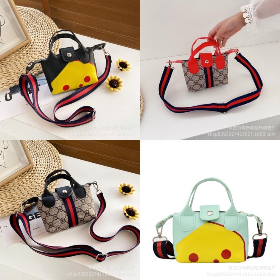 Novo Mini Bandoleira Sacos menina PU bolsa de couro para meninas Crianças Multi-Function pequeno Bagpack Ladies Escola Bandoleira Sacos # 944