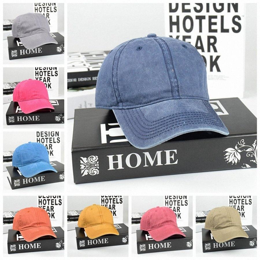 Fare Old Vintage cappello da baseball visiera classici unisex Plain all'aperto cappelli di Sun del viaggio Fashion Party Hats RRA3113 WY3K #