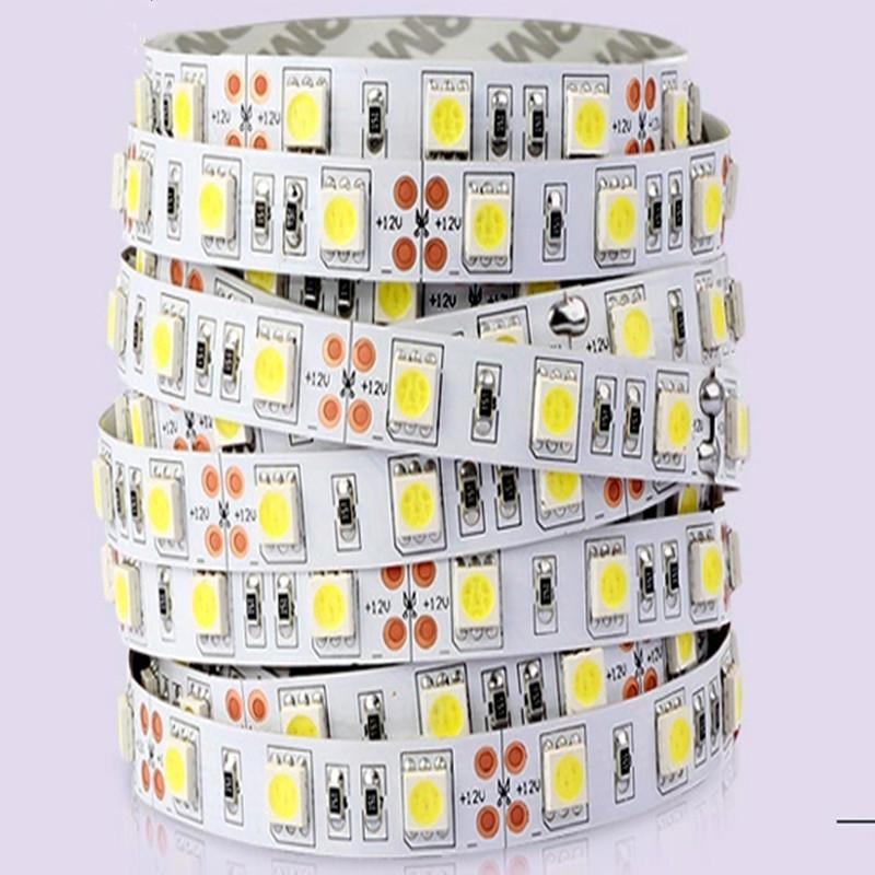 SMD 5050 Waterproof IP65 Strip light, DC12V 300LEDS White Color ,Led Rope String light, Retail,WholesaleFree Shipping
