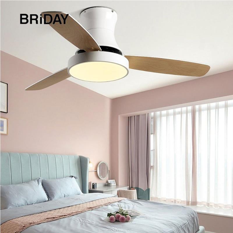 Celling Fan-Licht mit Fernbedienung Low Floor Ventilator Nordic Lampe Gastronomie Wohnzimmer Holz Absaug- Decken Off 42 48 Zoll