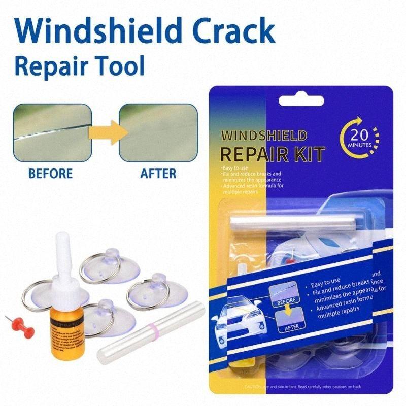 Repair a windshield