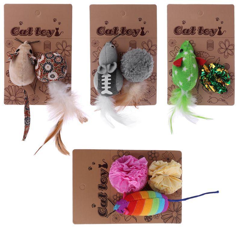 Мыши Animal Cat игрушка Catnip Интерактивной кошка мяч рождественских товаров для животных котят игрушки для игрушки кошки котенка