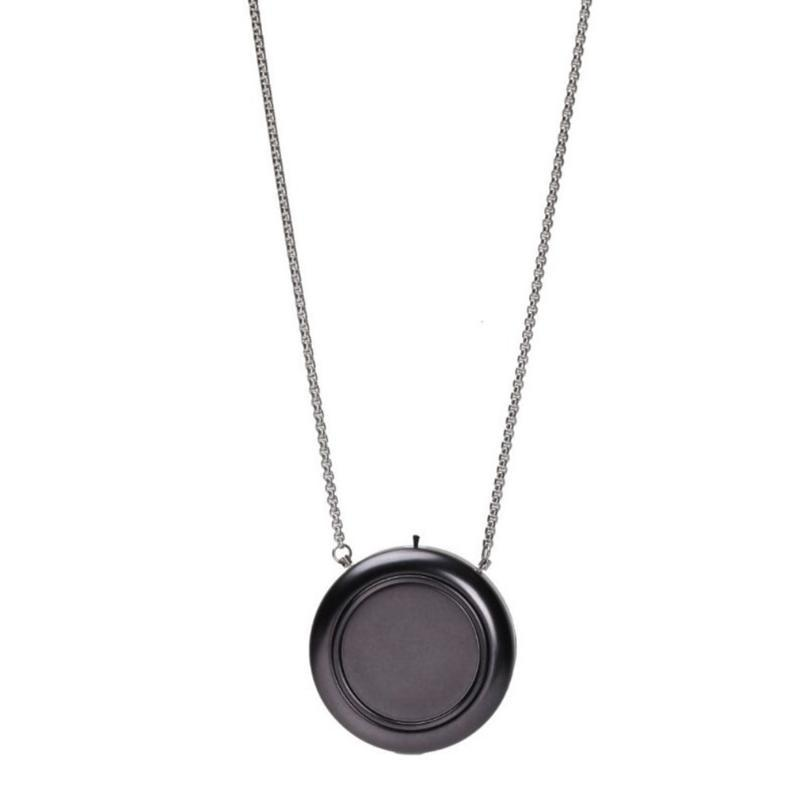 USB Purificateur d'air portable Wearable Collier négatif ioniseur Anion Cleaner Air Personal Wearable Collier