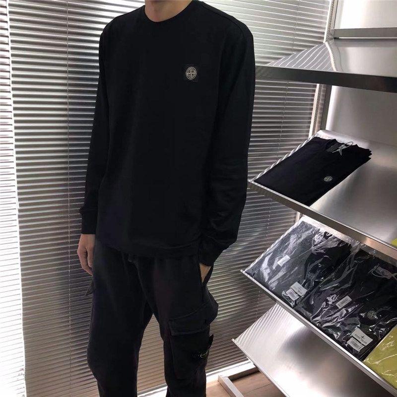 810155 Herbst Chaozhou Herrengarde, koreanische Ausgabe, dünne T-Shirt, T-Shirt, Unten Hemd, gedrucktes T-Shirt für Jugendliche