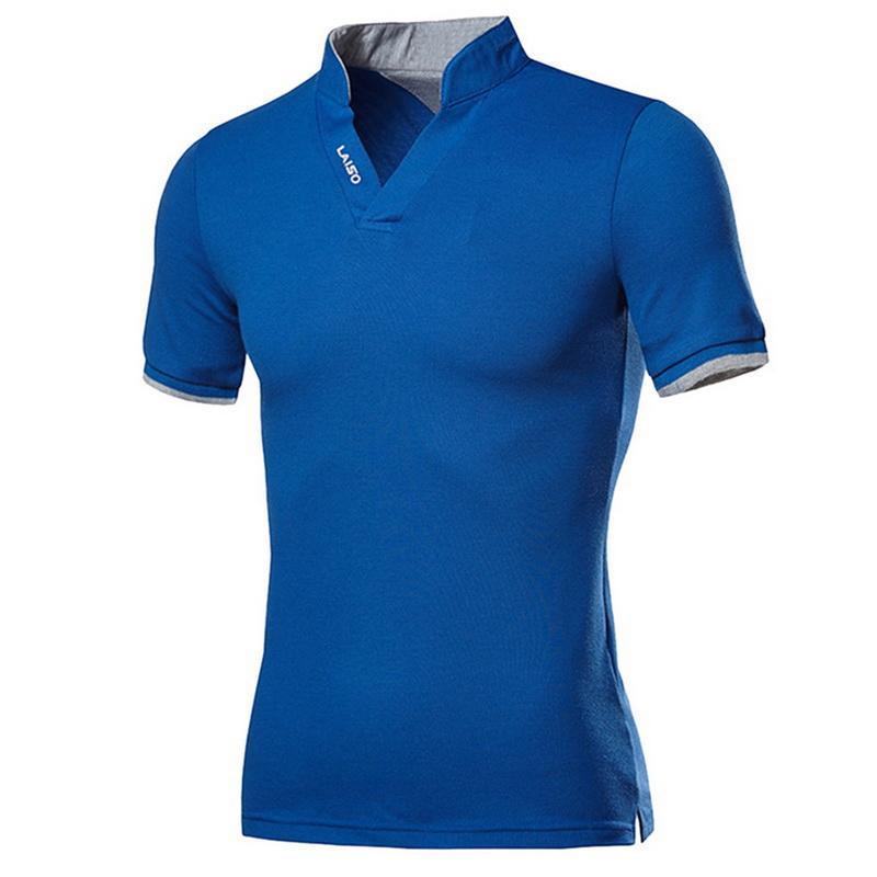 코튼 남성 셔츠 탑스 패션 플러스 사이즈 짧은 소매 블랙 화이트 셔츠 섹시한 스탠드 칼라 homme camisa 4XL 5XL