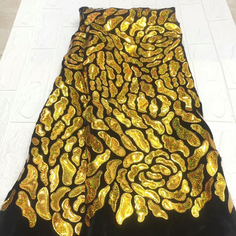 tessuto di cotone svizzero di vendita superiore di forma irregolare toppa grande modello di fiori di alta qualità del tessuto di velluto pizzo sfondo nero