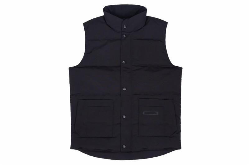 2020 패션 브랜드 남성 겨울 조끼 럭셔리 클래식 다운 조끼 디자이너 파카 코트 두꺼운 재킷 솔리드 지퍼 민소매 최고 품질 20091201T