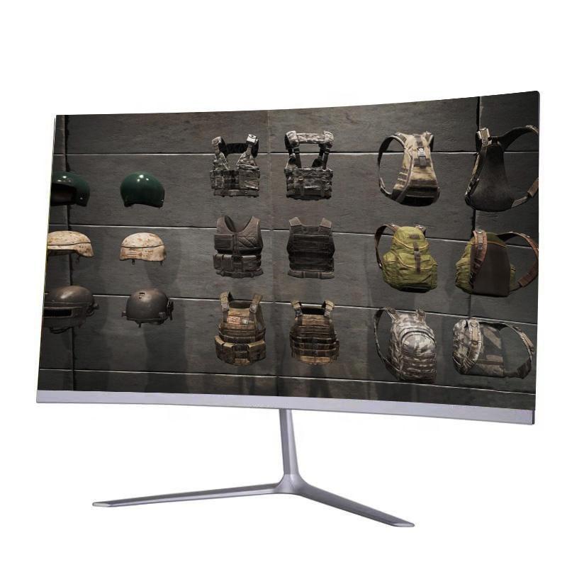 Monitores 32 polegadas Grau-A-Plus Painel Exibição 1800R Tela curvada 144Hz Ultra Wide Monitor de jogos