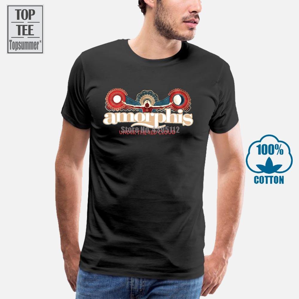 Amorphis Sol y la Luna camiseta del logotipo M L XL 2XL Marca T Nueva camisa oficial