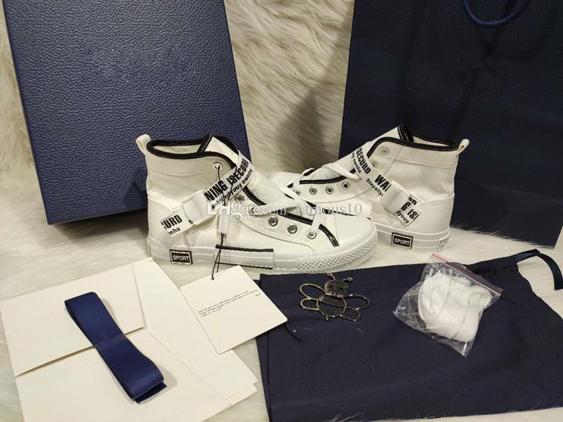 Mode hommes de vente à chaud et les femmes espadrille 3D maille chaussures de sport léger respirant chaussures de sport boîte d'emballage bleu accessoires sac cadeau bleu