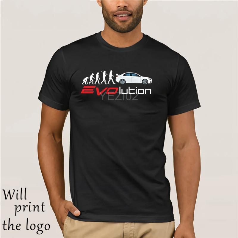 2019 marca de moda verano de los hombres camiseta de los hombres Marca Lancer Evo IX X XI XII aficionados evolución del tamaño S-XXXL Camiseta