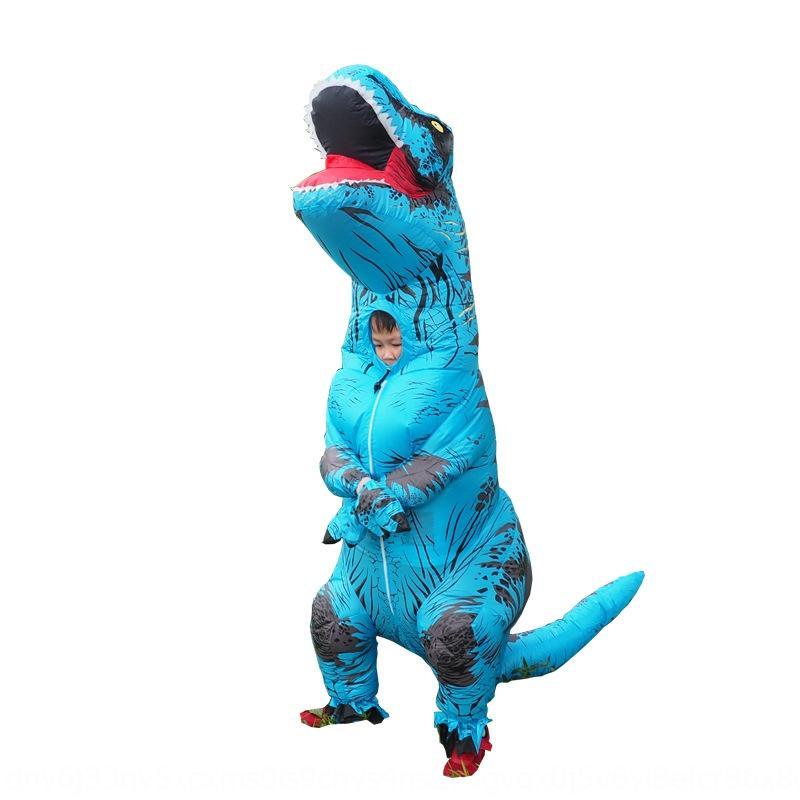 Halloween del dinosaurio Tyrannosaurus Rex ropa inflable juguetes Juegos sociales divertido al aire libre Photo inflable clothingToy animales clothingcartoon