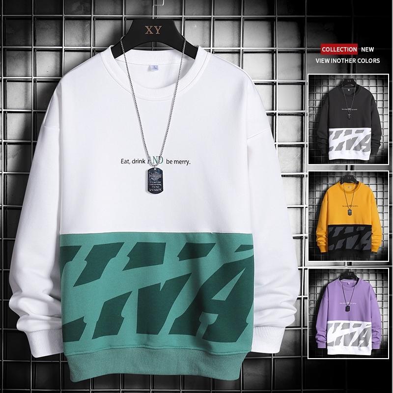 Marque de haute qualité Hommes Hoodie 2020 Automne Streetwear Hip Hop Hommes Hoody Patchwork molletonnée Mode Sweat à capuche Homme Hauts T200917