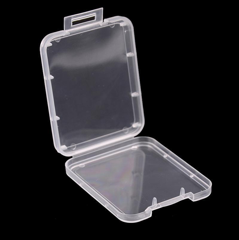 Дробление Контейнер Box Защита Case Card Контейнер карты памяти CF Boxs карты Инструмент Пластиковый прозрачный хранения легко носить Рождество
