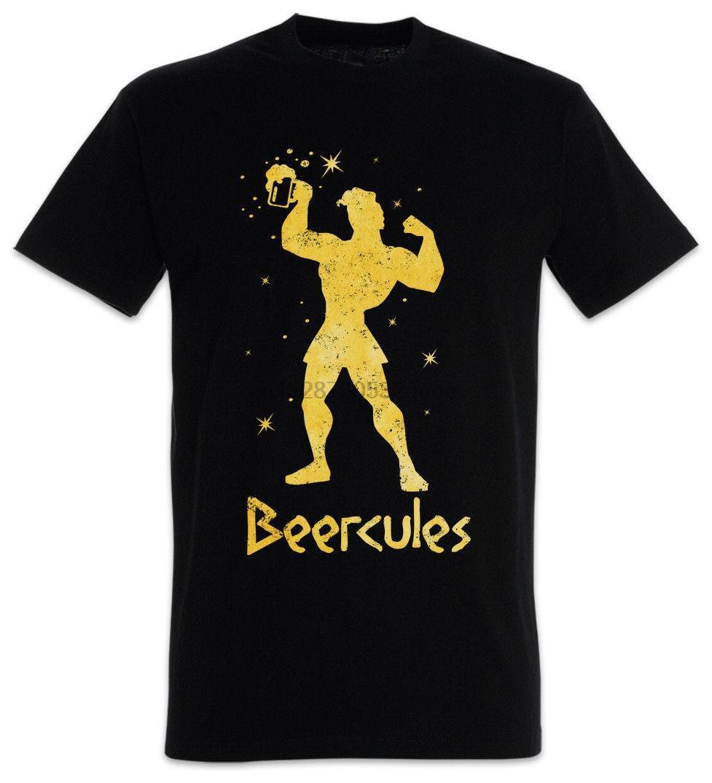 Beercules camiseta de la diversión de alcohol betrunken borrachos partido Junggesellenabschied 100% Algodón Marca nuevas camisetas