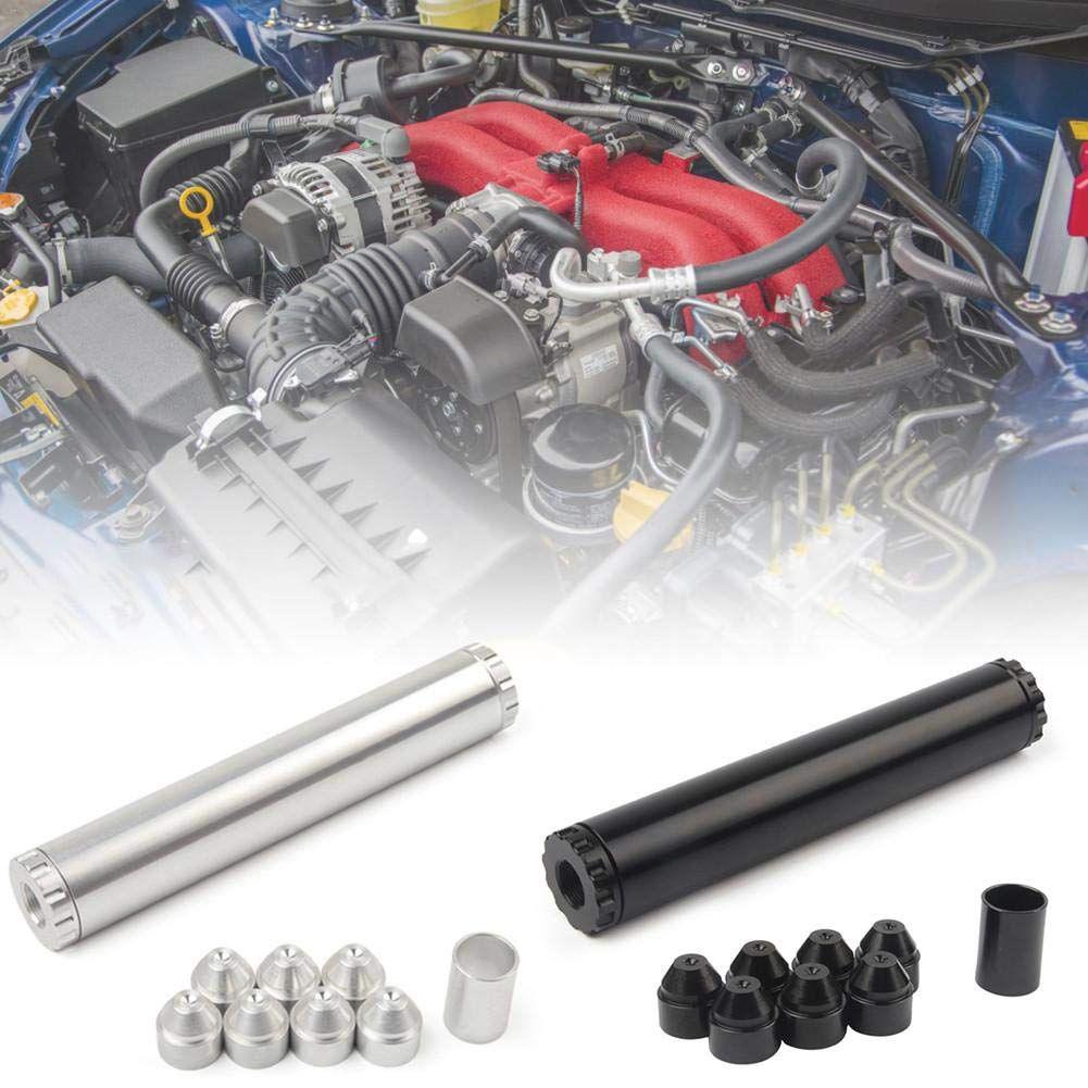 11 adet Alüminyum Araba Yakıt Filtresi Yakıt Tuzağı 1/2-28 5/8-24 Otomotiv Yakıt Filtresi Napa 4003 Wix 24003 için 1x6 Solvent Tuzağı