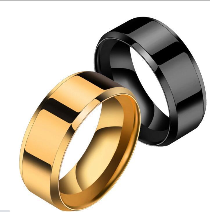 Кольцо Мужчины Titanium Black ps1702