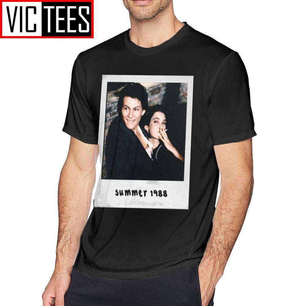 Hommes Heathers T-shirts Jason Dean - Veronica Sawyer T-shirt mignon T-shirt taille coton imprimé Streetwear plus T-shirt