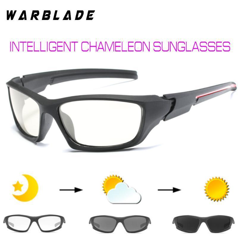 Gafas de sol WBL Pesca para hombre Transición al aire libre Photochromic Lens HD Gafas de sol Polarizadas Conducción IMWGL