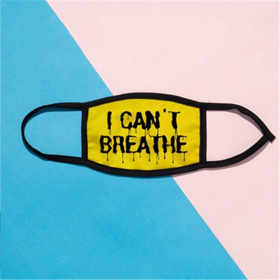 Esponja Negro máscara de respiración hielo lavable con válvula seda cara reutilizable PM2,5 Filtros máscaras de protección de reciclaje de boca en Stock # 920