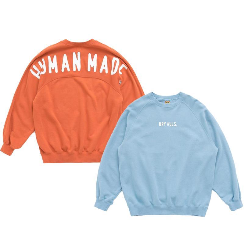 Мужчины Оранжевые Мужчины Хлопок Толстовки Blue Пуловер Толстовка Печатные Hoodie Женщины GmbBX